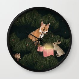 the peace offering Wall Clock