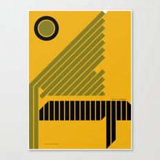 The Grid is Back poster Canvas Print
