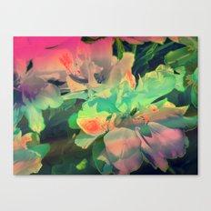 Pop Art Flowers Canvas Print