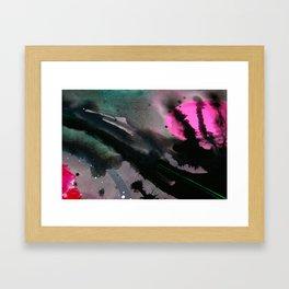 Wet paint 3 Framed Art Print
