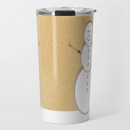Vintage Snowman Travel Mug