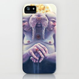 High Society Walrus iPhone Case