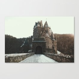 Finally, a Castle - landscape photography Canvas Print