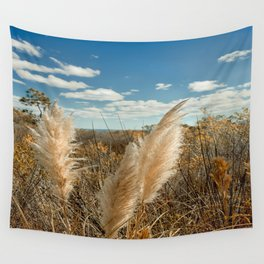 Autumn Sea Oats Wall Tapestry