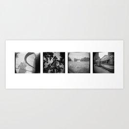 Wheel, Spire, Respect, Diner Art Print