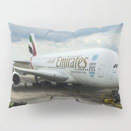 Emirates A380 Airbus Pillow Sham