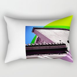Lime Athens Sky Rectangular Pillow