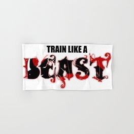Train like a Beast Hand & Bath Towel