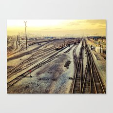 port of oakland  Canvas Print