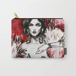 Red fur for her Carry-All Pouch