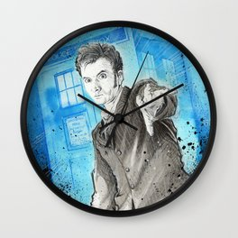 Doctor Who: The 10th Doctor Wall Clock
