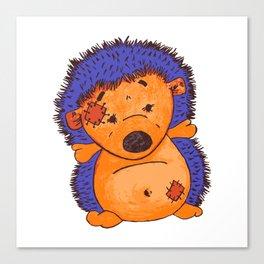 Cuddly Hedgehog Canvas Print