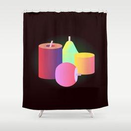 S T I L L  L I F E 2.0 Shower Curtain
