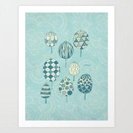 Grove(Xmas II) Art Print