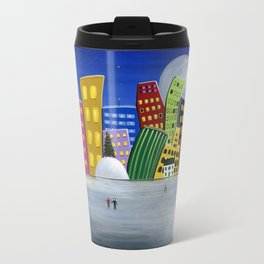 Hilly Meets Holiday Harbour Travel Mug