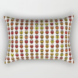 Beetle Collection Rectangular Pillow