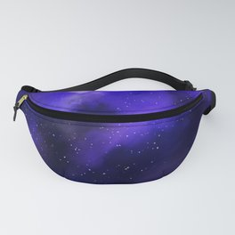 Purple Galaxy Painting Fanny Pack