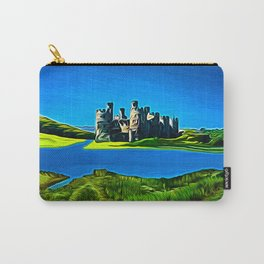 Conway Castle (Digital Art) Carry-All Pouch