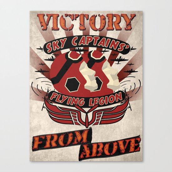 Flying Legion Canvas Print