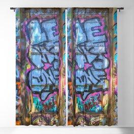 Painted Doorway Blackout Curtain