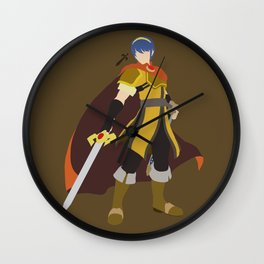 Marth(Smash)Gold Wall Clock
