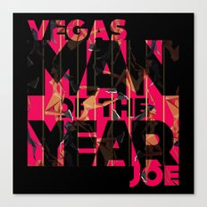 Man Of The Year Canvas Print