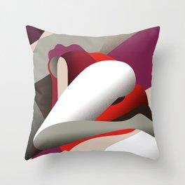Solitudine Throw Pillow