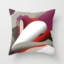 Solitudine Throw Pillow