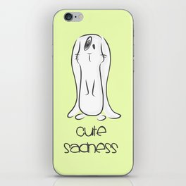 Cute Sadness iPhone Skin