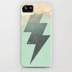 lightning strike -2 Slim Case iPhone (5, 5s)