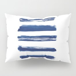 Indigo Brush Strokes | No. 2 Pillow Sham