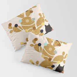 Merry Cat-Mas #cactus #Christmas Pillow Sham