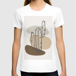 Abstract Cactus T-shirt