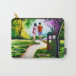 Tardis in a Romantic Place Carry-All Pouch