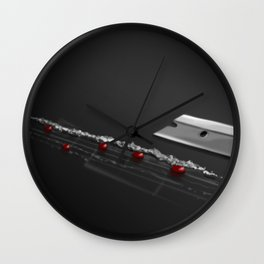 Cocaine Music Wall Clock