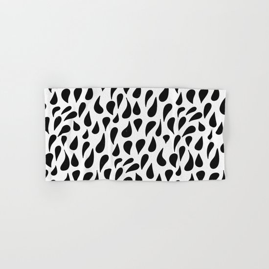 Abstract polka dot pattern Hand & Bath Towel