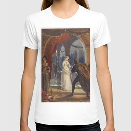 Vintage Romeo and Juliet Painting (1861) T-shirt