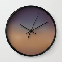 blur Wall Clocks featuring Blur by eARTh
