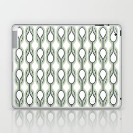 Retro-Delight - Double Drops - Mint Laptop & iPad Skin