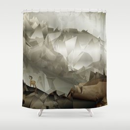 The Fortress Shower Curtain