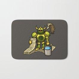 Bucket Knight Bath Mat