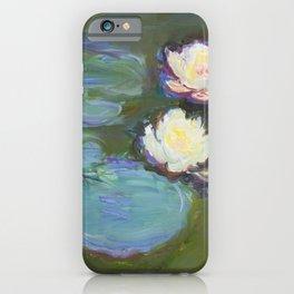 Nympheas (1897-1898) by Claude Monet iPhone Case