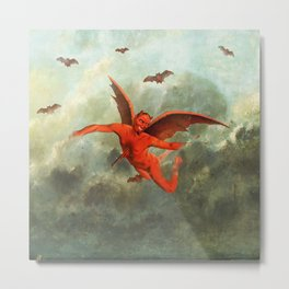 FLYING EVIL Metal Print