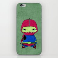 conan iPhone & iPod Skins featuring A Boy - Trap-Jaw by Christophe Chiozzi