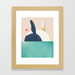 The Great Breach Framed Art Print