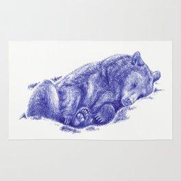 Lazy Bear Rug