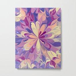 Mandala flower 01 Metal Print