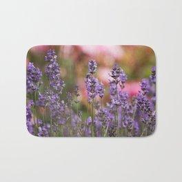Lavender flowers Bath Mat
