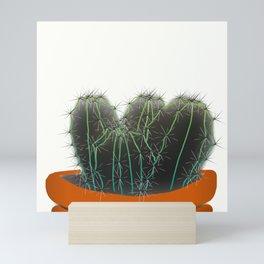 Cactus pot Mini Art Print