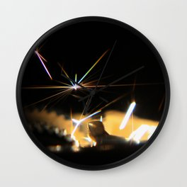 A Spark in the Dark Wall Clock
